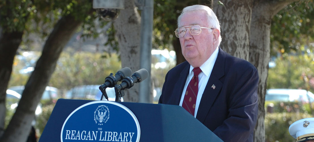 Event - Former Attorney General of the United States Edwin Meese III
