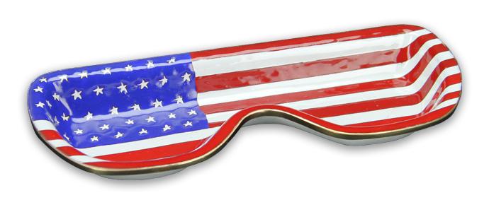 God Bless America Eyeglass Holder