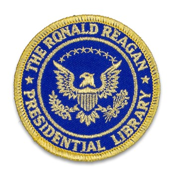 Reagan Library Seal Patch