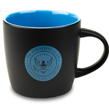 Reagan Library Mug - Black/Blue