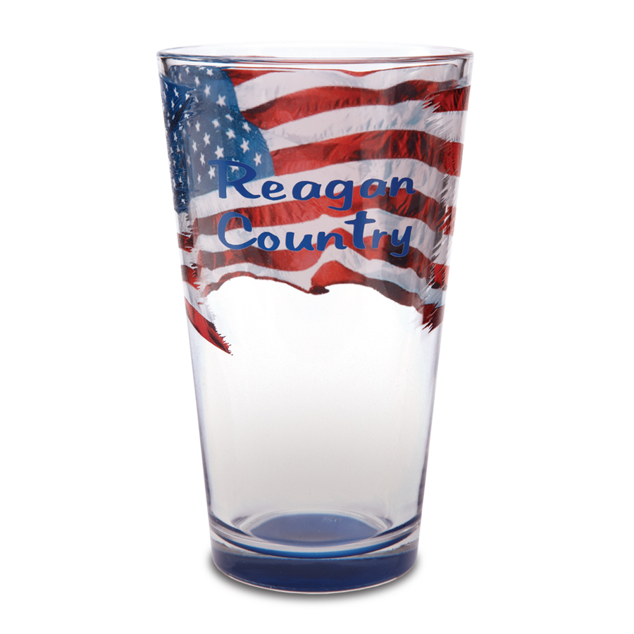 Reagan Country Pint Glass