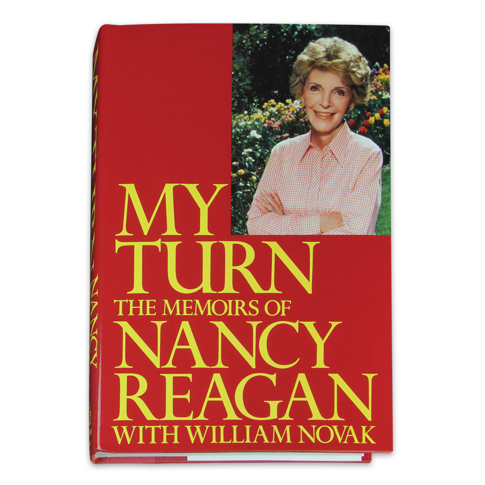 My Turn: The Memoirs of Nancy Reagan: Signed by Nancy Reagan