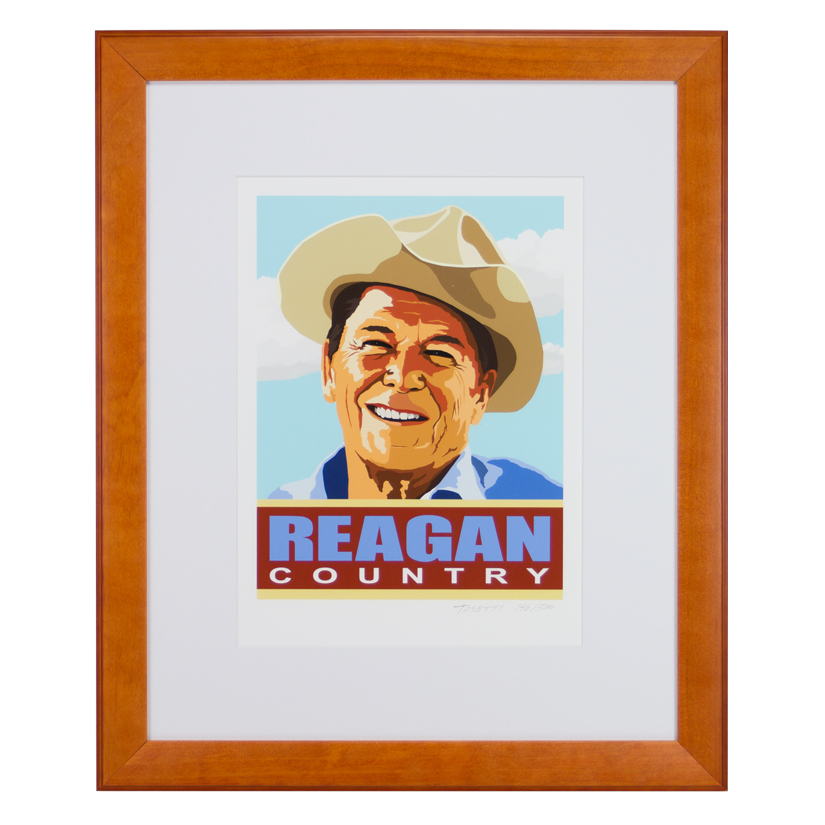 Reagan Country Print