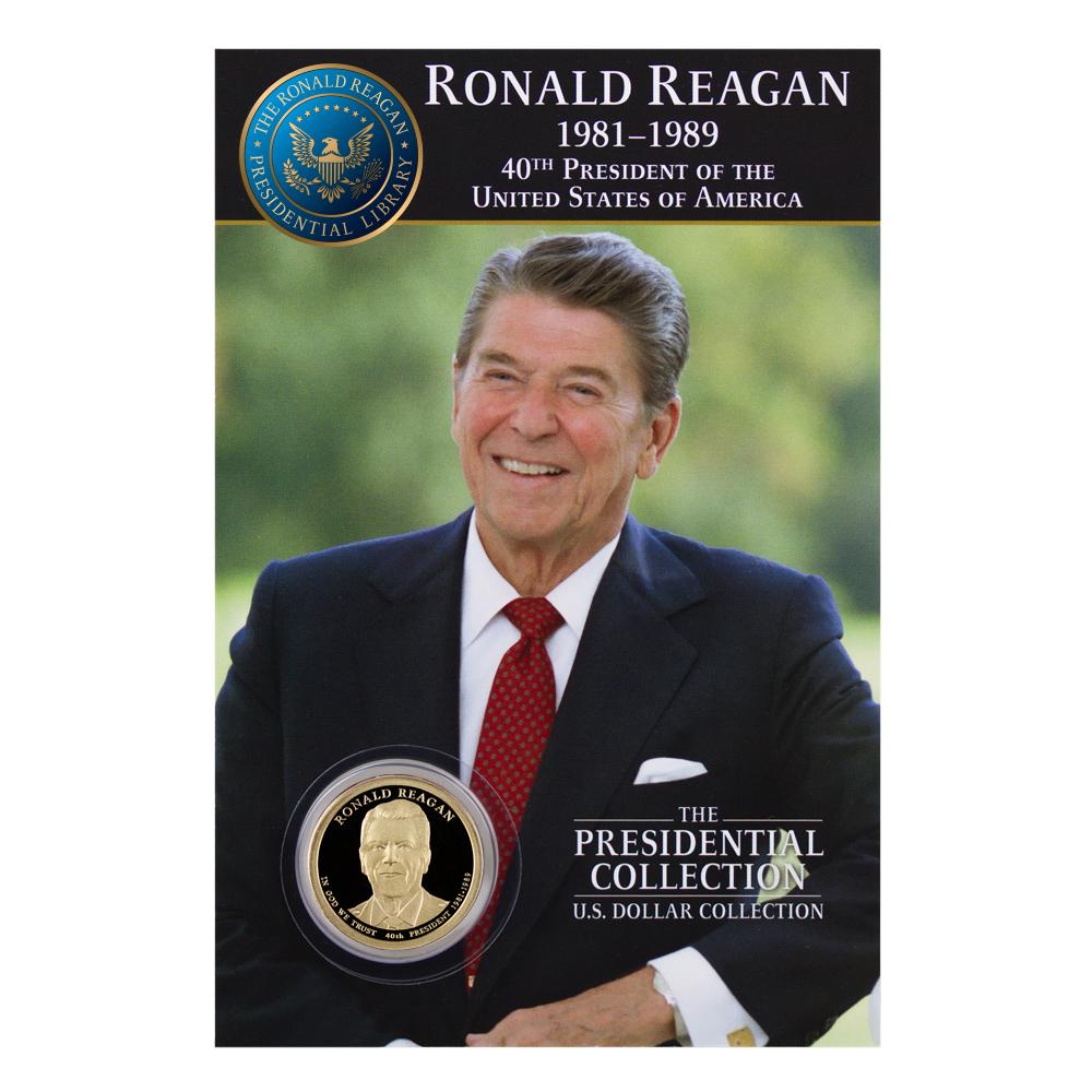 "sealed original PRESIDENTIAL  1 5//16/"" BRONZE MEDAL US MINT RONALD REAGAN"