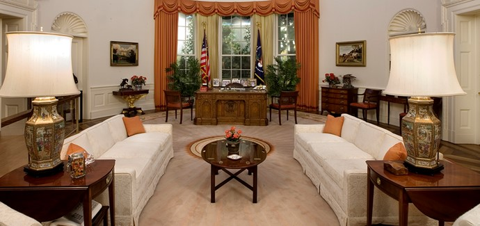 Oval Office The Ronald Reagan Presidential Foundation