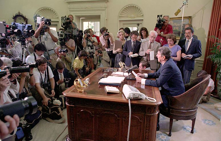 Event - The Presidency and the Press: From Reagan to Trump