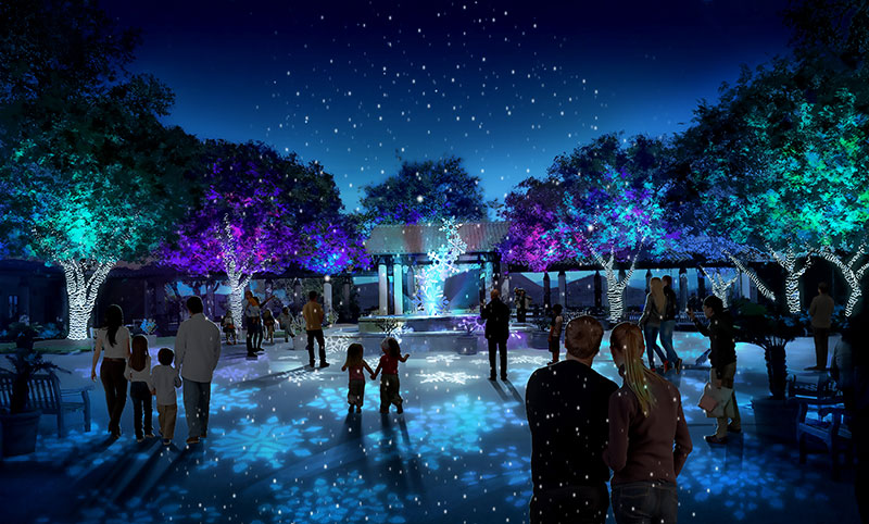the great american christmas holiday lights at the reagan library runs nightly from 600 pm 1000 pm between november 10 2018 and january 6 2019