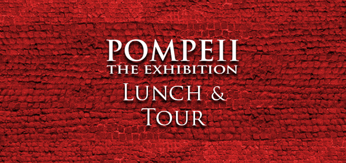 Event - Pompeii: The Exhibition Lunch and Tour - MAR 13