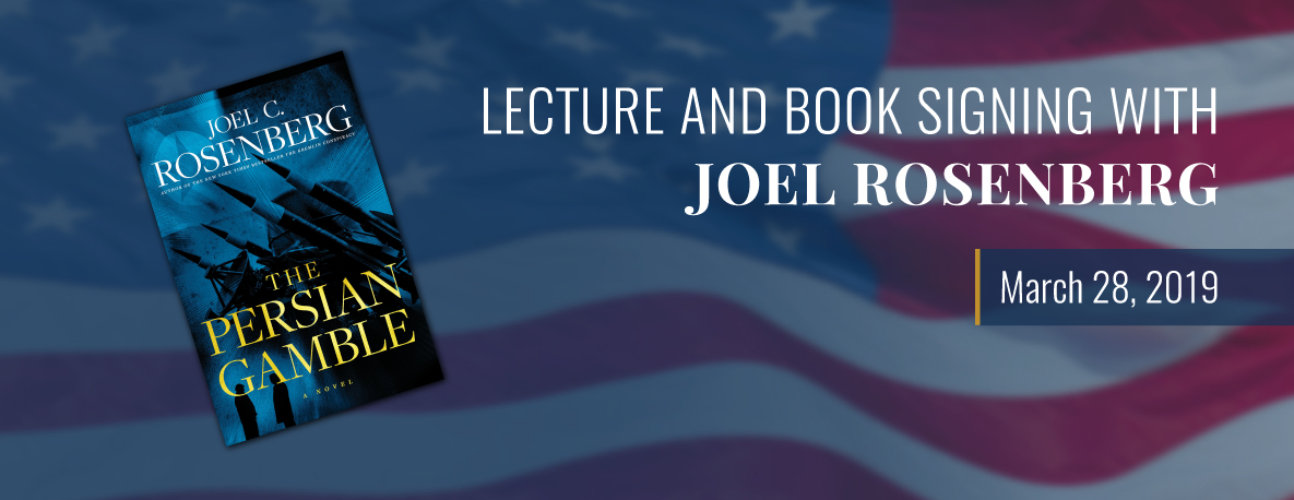 carousel Image - Lecture and Book Signing with Joel Rosenberg