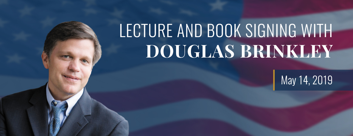 carousel Image - Lecture and Book Signing with Douglas Brinkley
