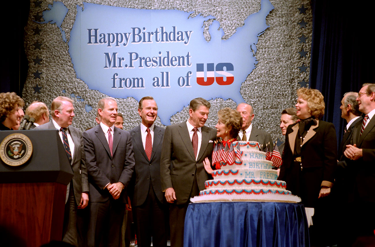 Event - A celebration of President Reagan's 110th birthday